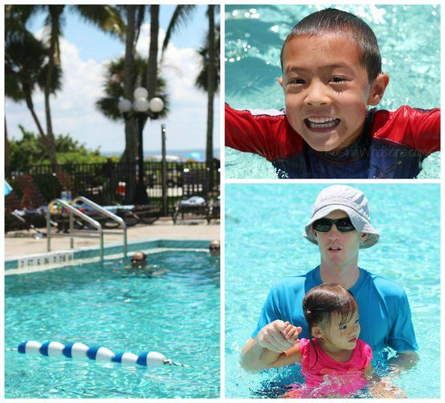 Holiday inn Sanibel pool