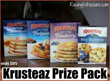 Krusteaz giveaway breakfast night