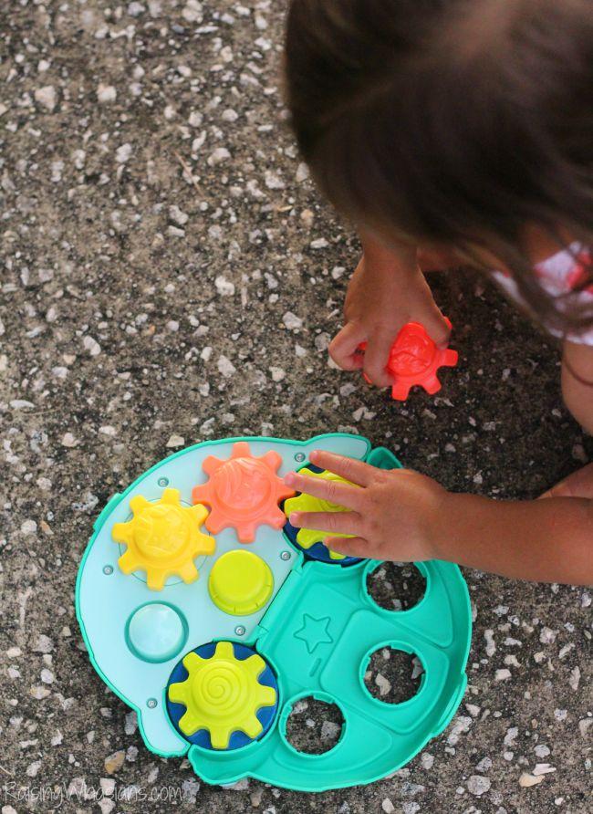 Playskool car toy with gears