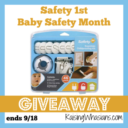 Safety 1st baby safety month giveaway
