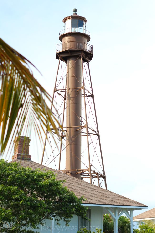 Sanibel island lighthouse for families