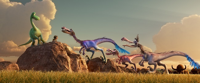 The good dinosaur movie types of dino
