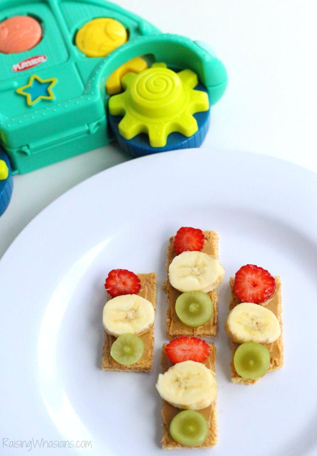 Toddler snack car inspired