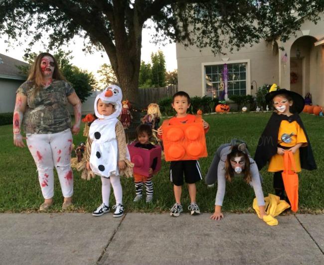 Besty family Halloween activities