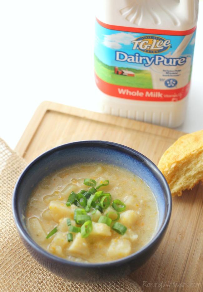 Crockpot soup with milk