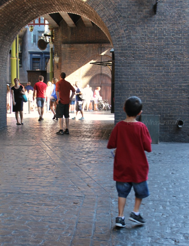 Diagon alley for 7 year old