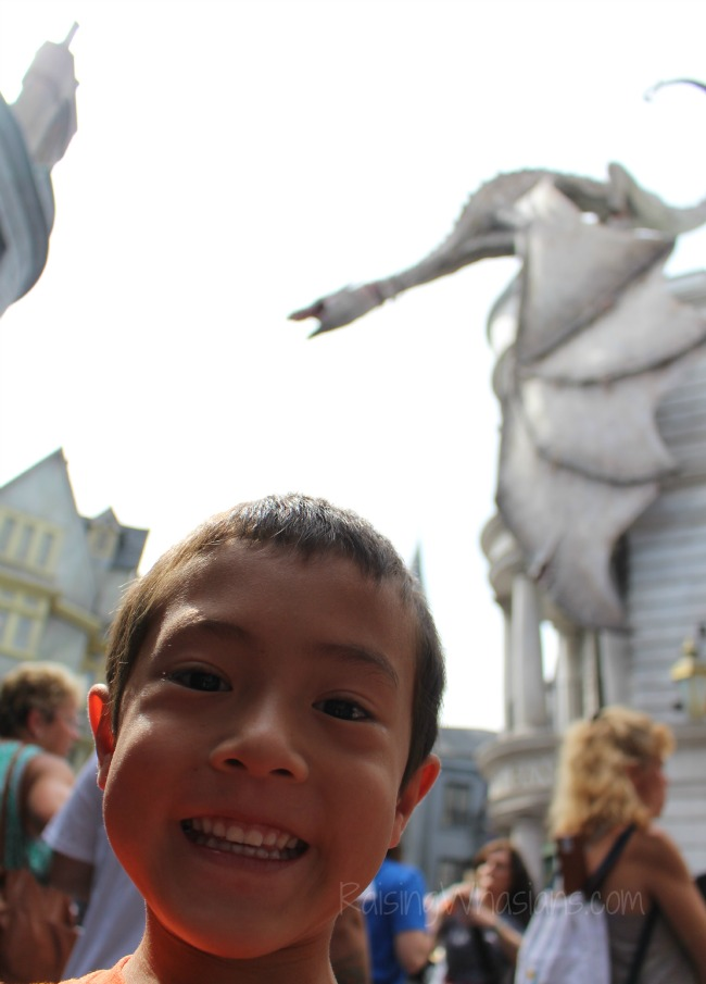 Diagon alley for kids