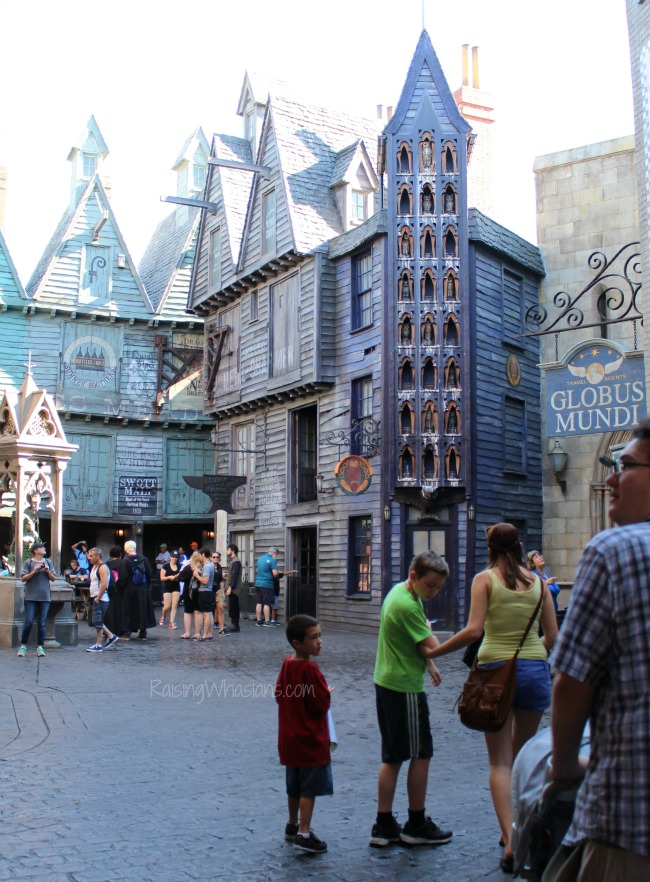 Diagon alley photo tour