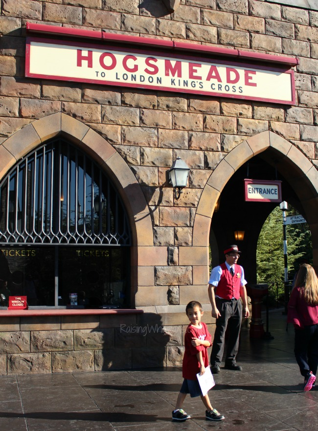 Hogsmeade photo tour