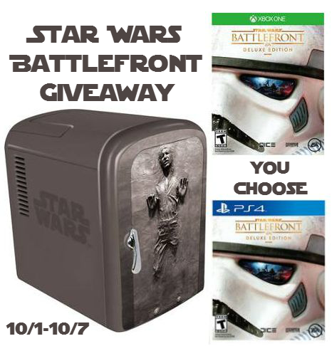 Star wars battlefront giveaway