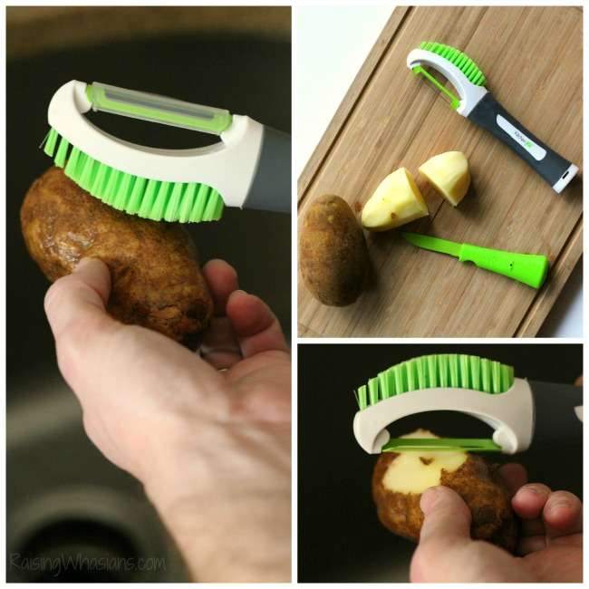 KitchenIQ potato tool review
