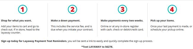 Kmart layaway 2015 terms
