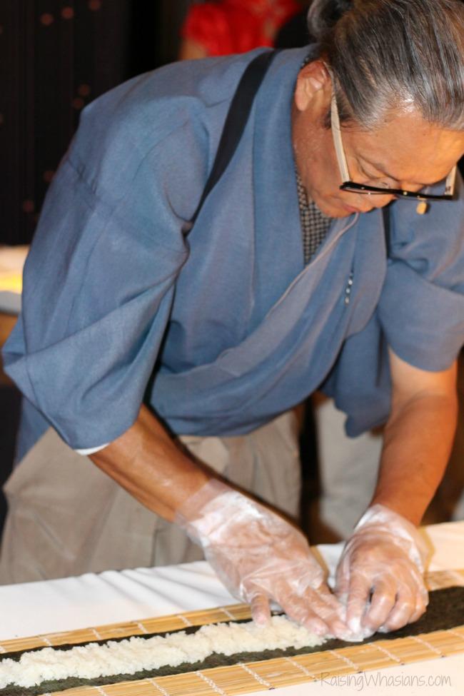 Morimoto Asia opening sushi