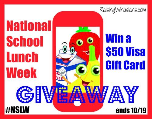 National school lunch week giveaway