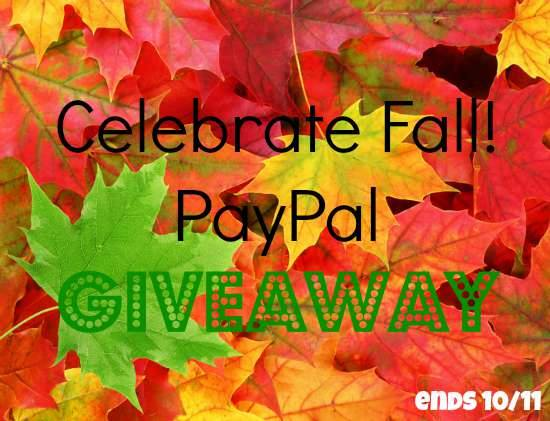 October fall paypal giveaway