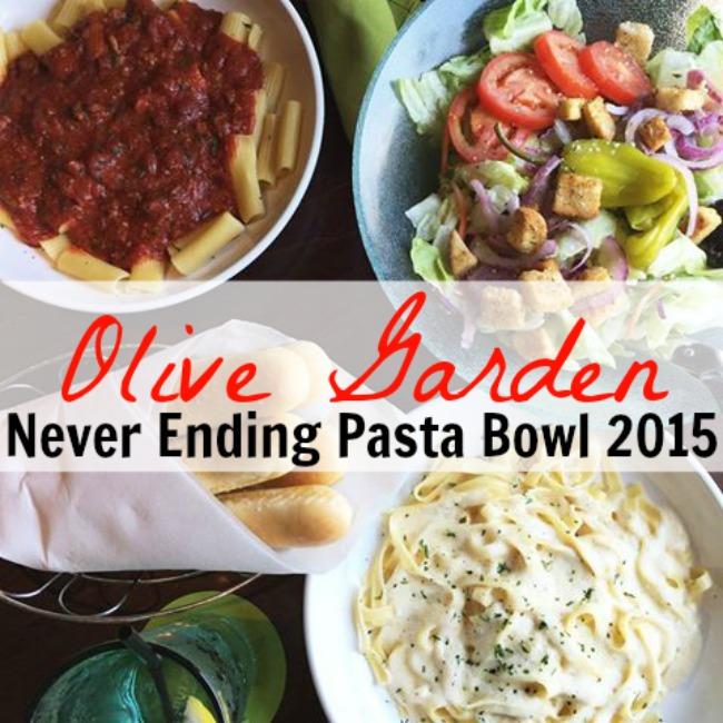 Olive Garden Never Ending Pasta Bowl Is Back For 2015