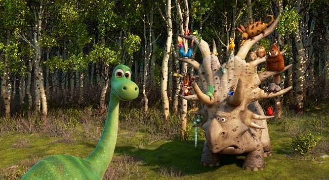 Pixae good dinosaur new trailer