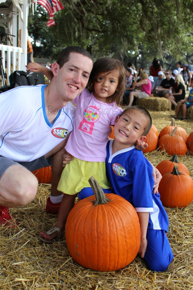 Pumpkin patch family