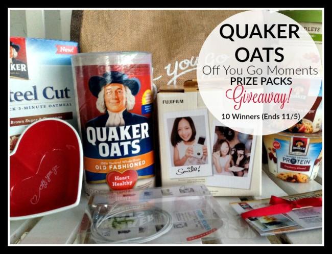 Quaker off you go giveaway