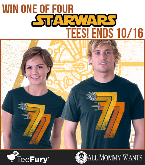 Star wars tee giveaway
