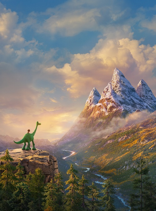 The good dinosaur new movie images