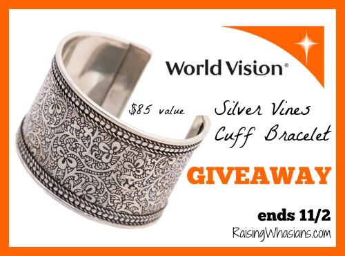 World vision bracelet giveaway