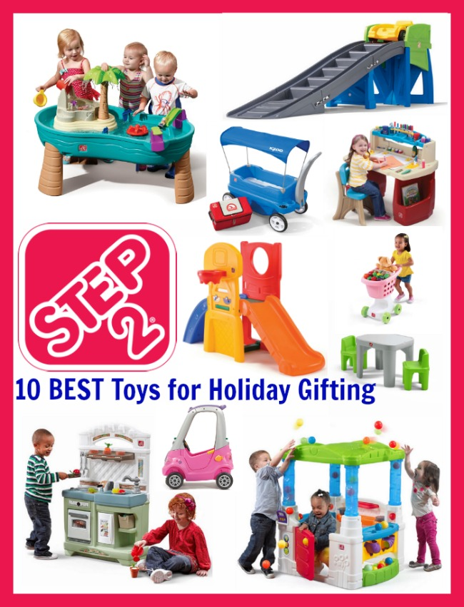 Best Step2 toys for holiday gifting