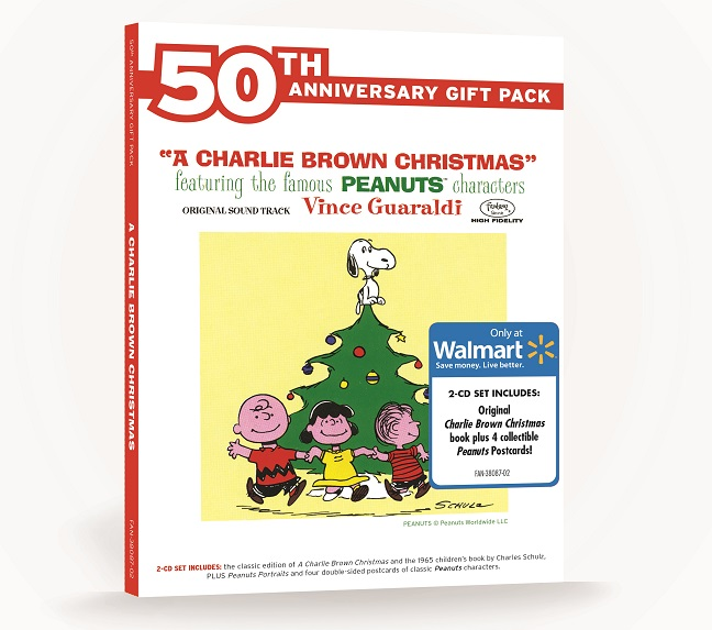charlie brown christmas 50th anniversary gift pack