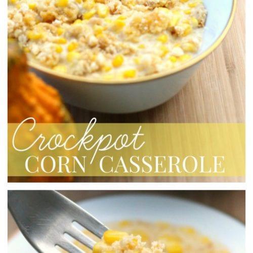 Crockpot corn casserole pinterest
