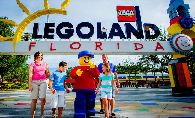 Come play your part at LEGOLAND ® California Resort, located just 30 minutes north of San Diego and one hour south of Anaheim. With more than 60 rides, shows and attractions, it's an interactive, hands-on theme park experience for families with children 2 -
