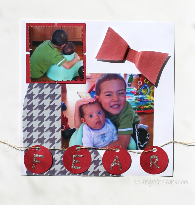 Free inside out printable scrapbook