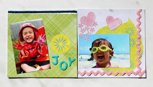 Free inside out scrapbook