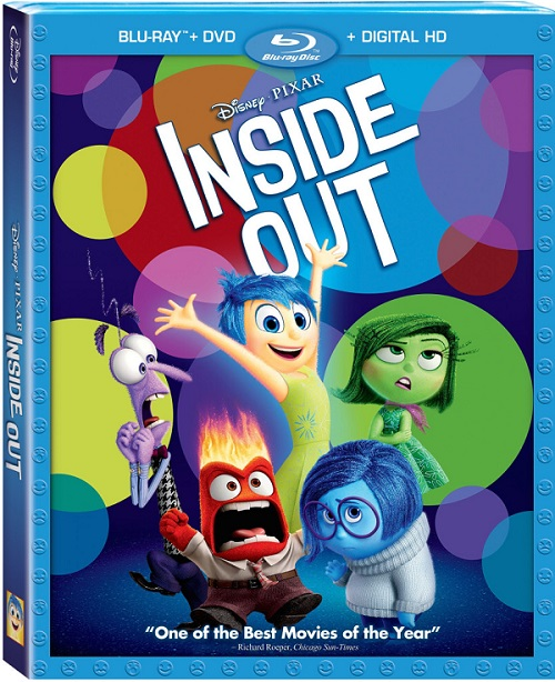 Inside out movie blu-ray