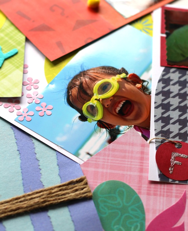 Inside out scrapbook ideas