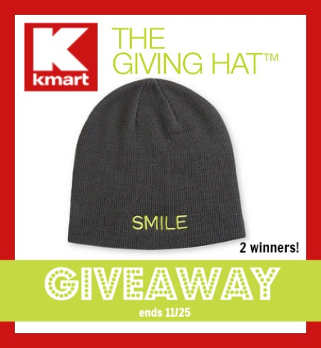 Kmart the giving hat giveaway