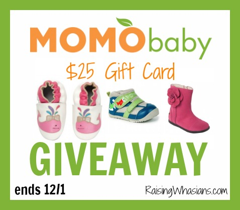 Momo baby shoes giveaway
