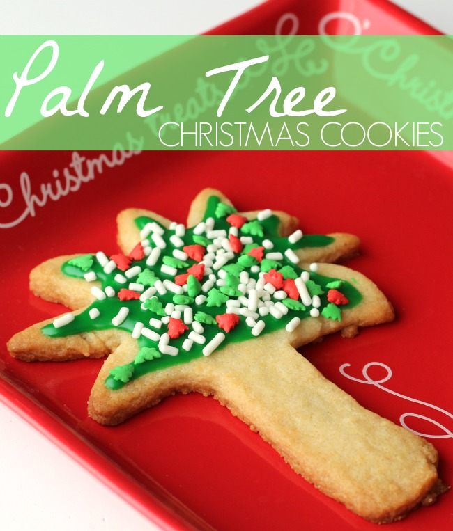 Spread Cheer With Palm Tree Christmas Cookies Raising Whasians