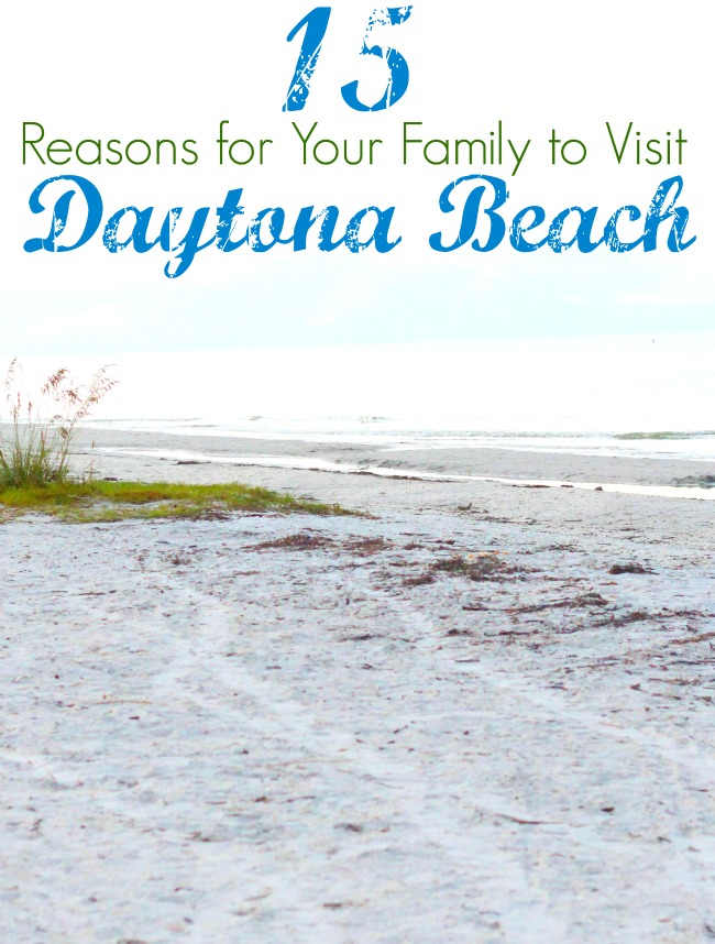 Reasons for your family to visit Daytona beach