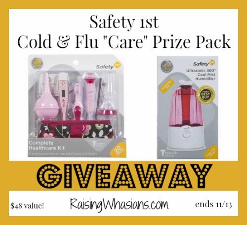 Safety 1st cold flu giveaway
