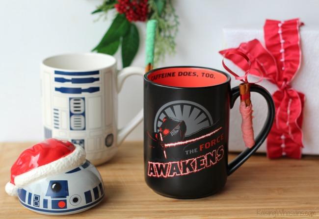 Star wars holiday gift mugs
