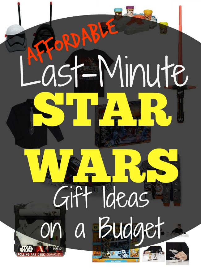 Affordable last minute star wars gift ideas at Kmart