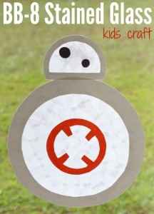 BB-8 kids craft