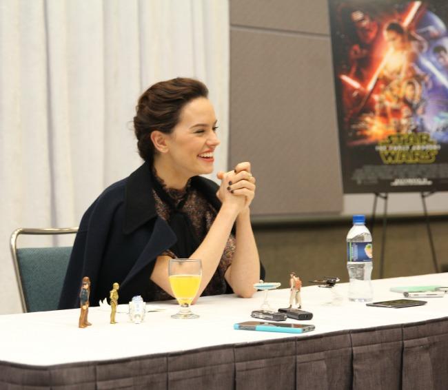 Daisy ridley rey star wars interview