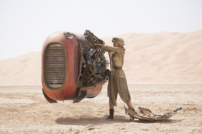 Daisy ridley the force awakens exclusive interview