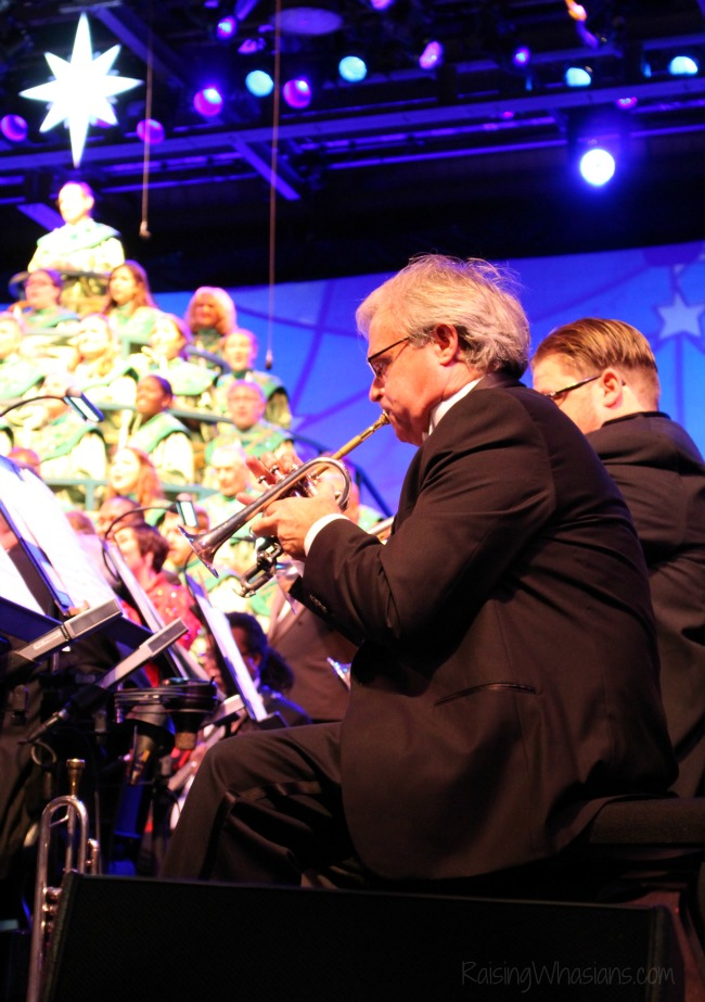 Disney world candlelight processional tips