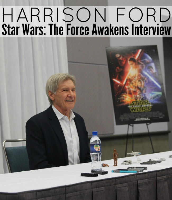 Harrison ford star wars the force awakens interview