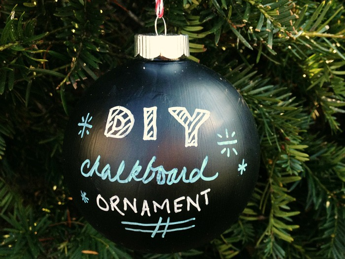 Chalkboard Ornament