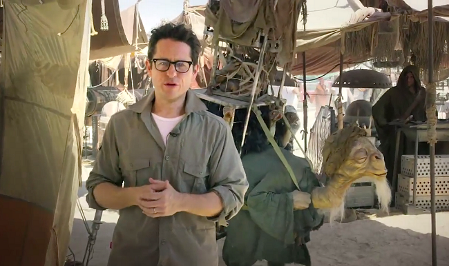 Jj abrams interview cantina