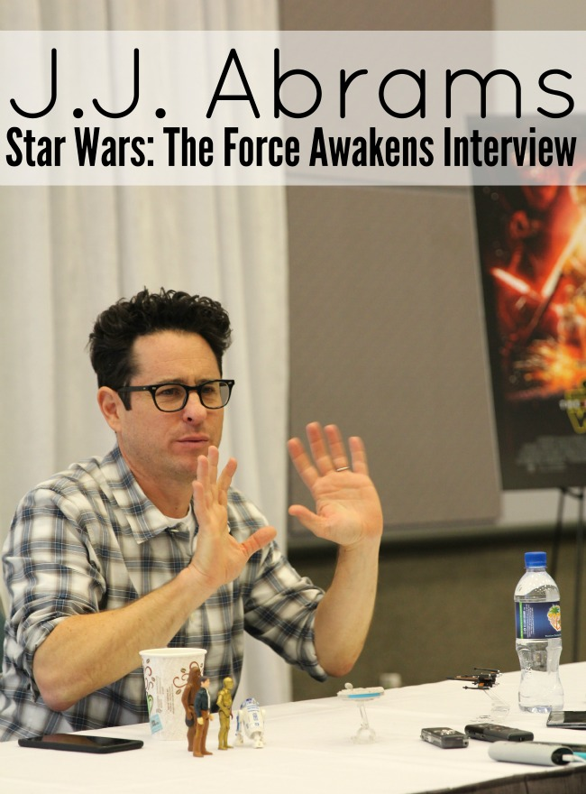 JJ Abrams interview star wars the force awakens