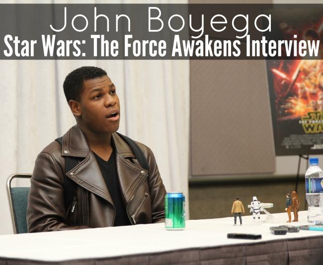 John Boyega interview star wars the force awakens